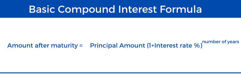 Compound Interest Calculator - Basic Formula